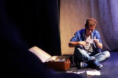 Littoral, une pièce de Wajdi Mouawad mise en scène Stéphanie Dussine, Compagnie Esbaudie, festival Off d'Avignon 2017