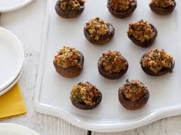 sausage-stuffed-mushrooms