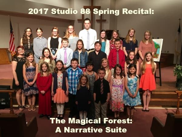 2017 Studio 88 Spring Recital The Magical Forest, A Narrative Suite