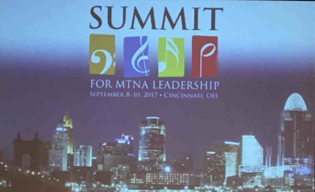 Summit for MTNA Leadership A Class Act