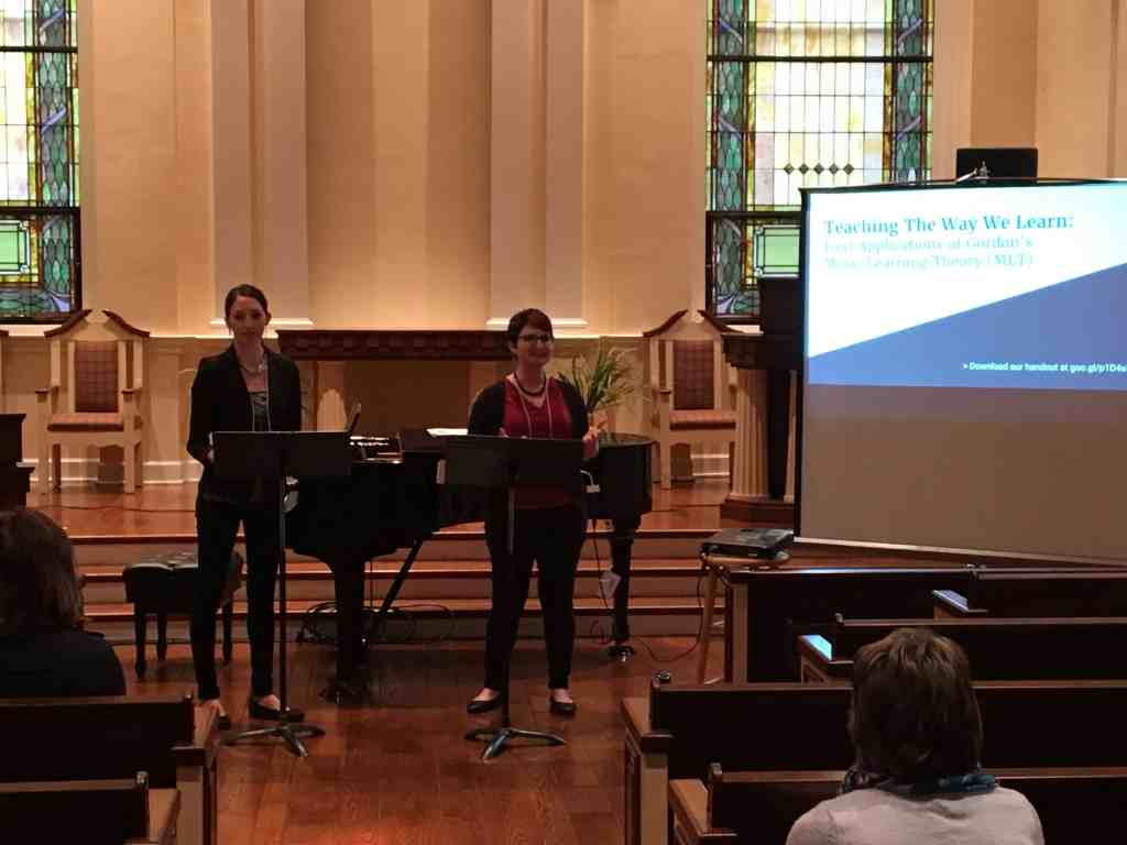 PRESENTATION: Teaching the Way We Learn: Applications of Gordon's Music Learning Theory for Piano Teachers (with co-presenter Joy Morin)
