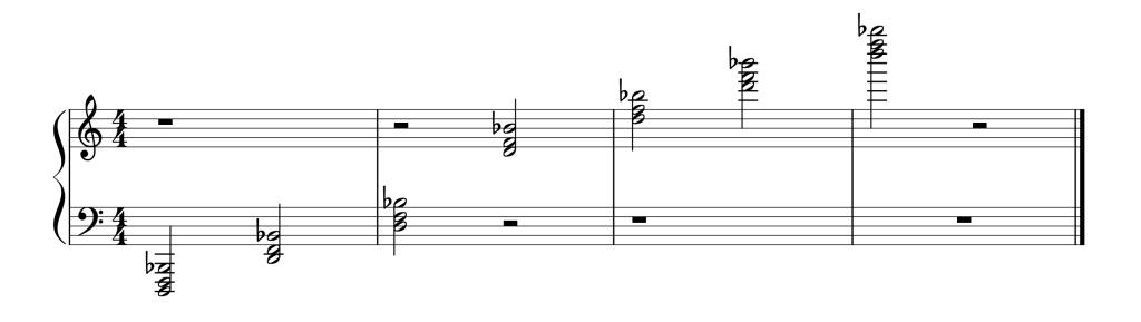 Bb Chord Piano