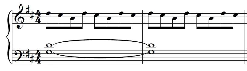Euphoria Piano Sheet Music Example