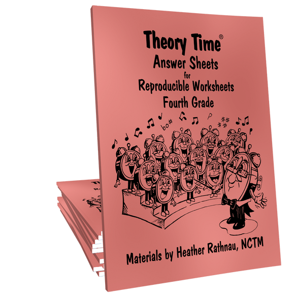 Theory Time Reproducible Series Fourth Grade Pack