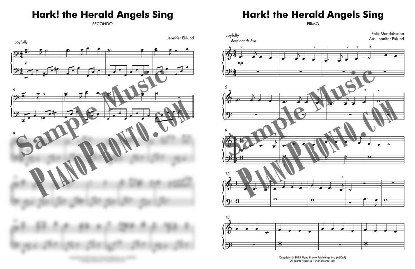Hark! the Herald Angels Sing Duet (from