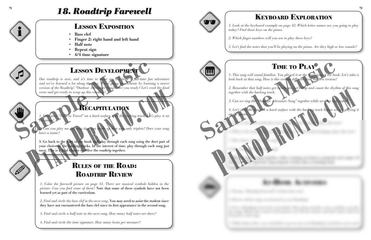 Roadtrip!® Outdoor Adventure Teacher Guidebook & Duets