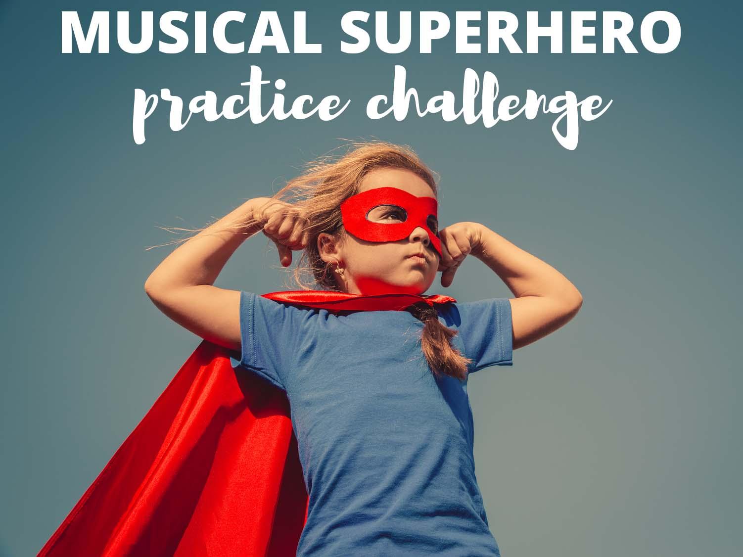 Become A Musical Superhero