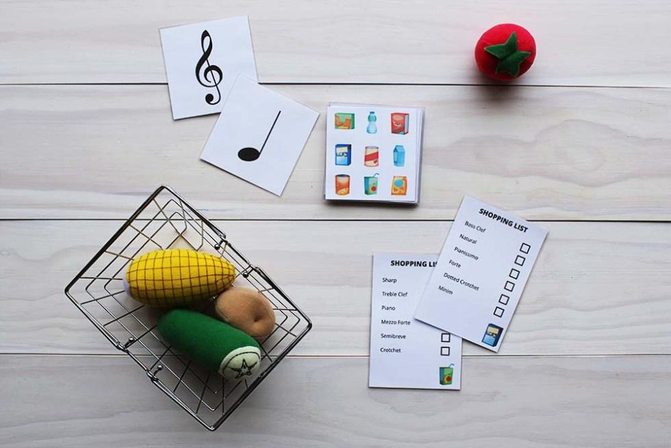 Musical Shopping Game