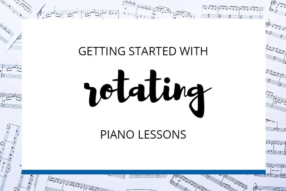 Rotating Lessons