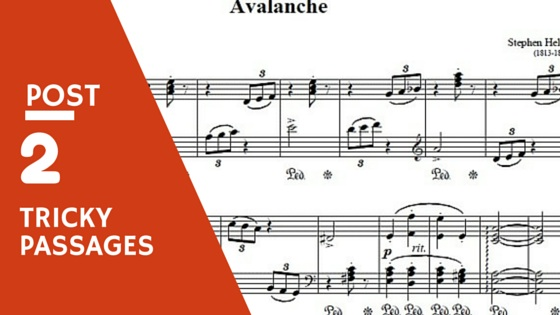 Hellers Lavalanche Op 45 No 2 Piano Play Along Post Two