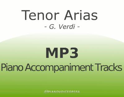 Tenor arias by verdi