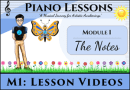 M1 – The Treble Clef Notes Butterflies