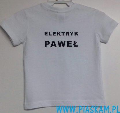 koszulka elektryk Paweł