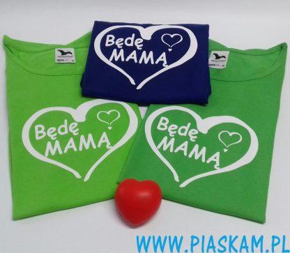 koszulki będę mamę