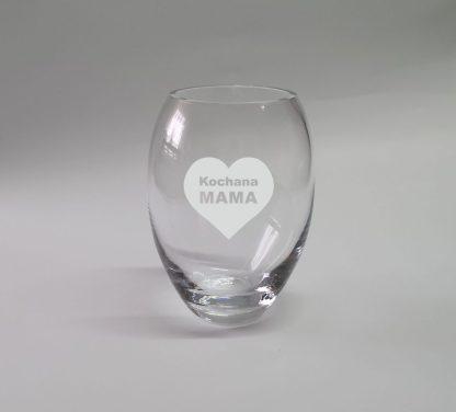 wazon mały grawer kochana mama w sercu