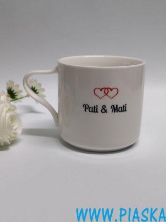 kubek porcelana grawer ślub