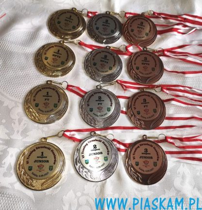 medale z nadrukiem