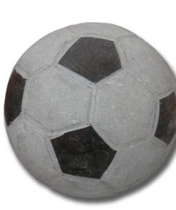 Decoratiune-Minge fotbal granit 25 cm