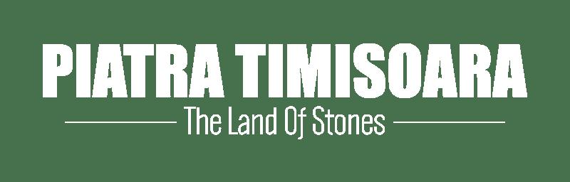 Piatra Timisoara logo alb