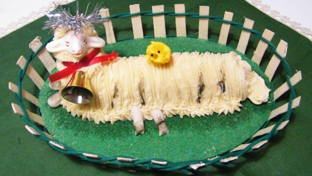 agnello in pasta di mandorle