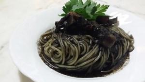 pasta con il nero di seppia primi piatti siciliani