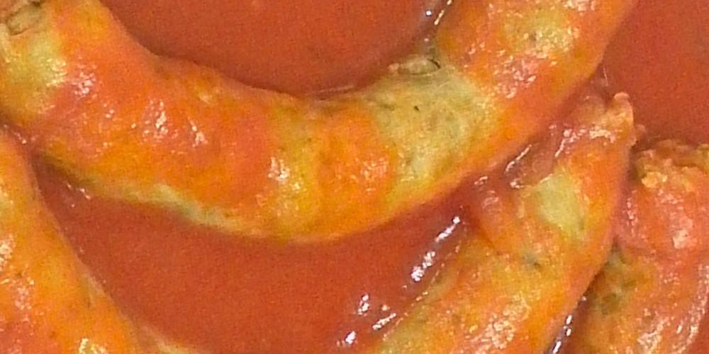 Salsiccia al ragù