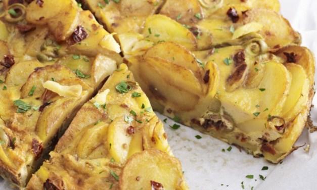 Frittata di patate e cipolle