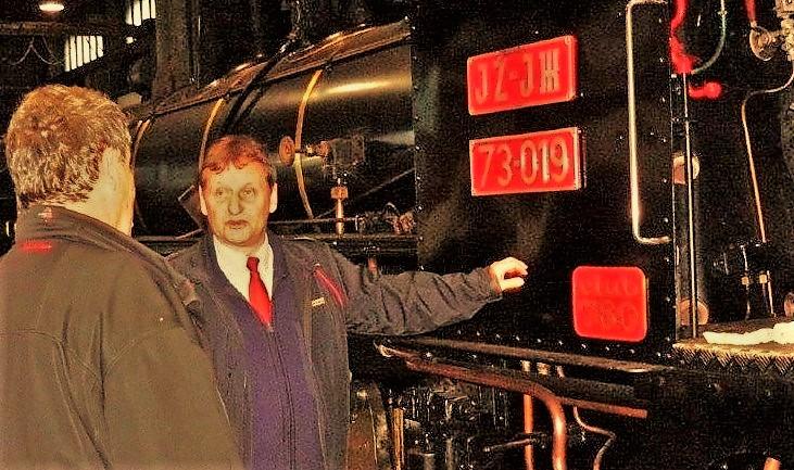 Peter Wachauer mit Stramitzer Pinzgaubahn