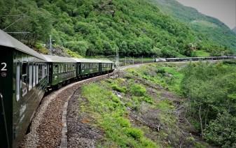 Flambahn Zugvorbeifahrt