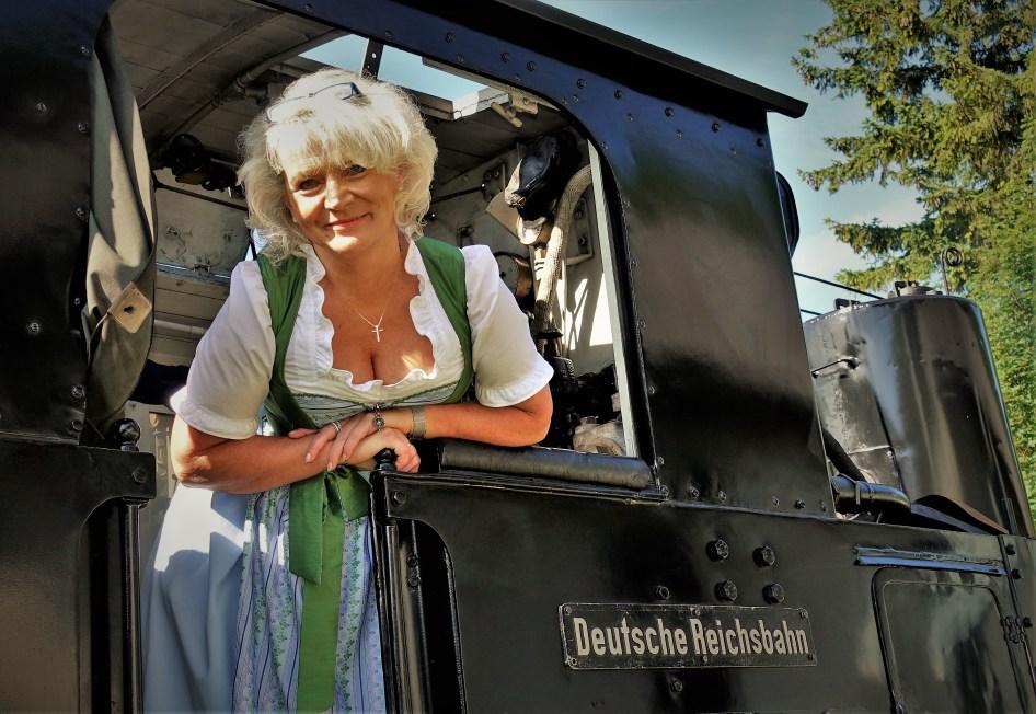 Rente Dirndl Reichsbahn nahe