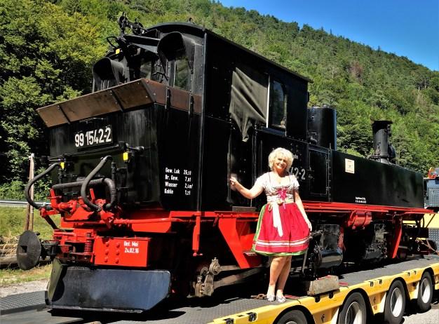 Lok Preßnitzbahn Renate Wachauer