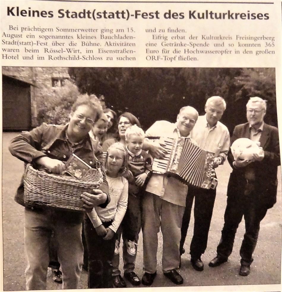 Stadtfest Kulturkreis 2002