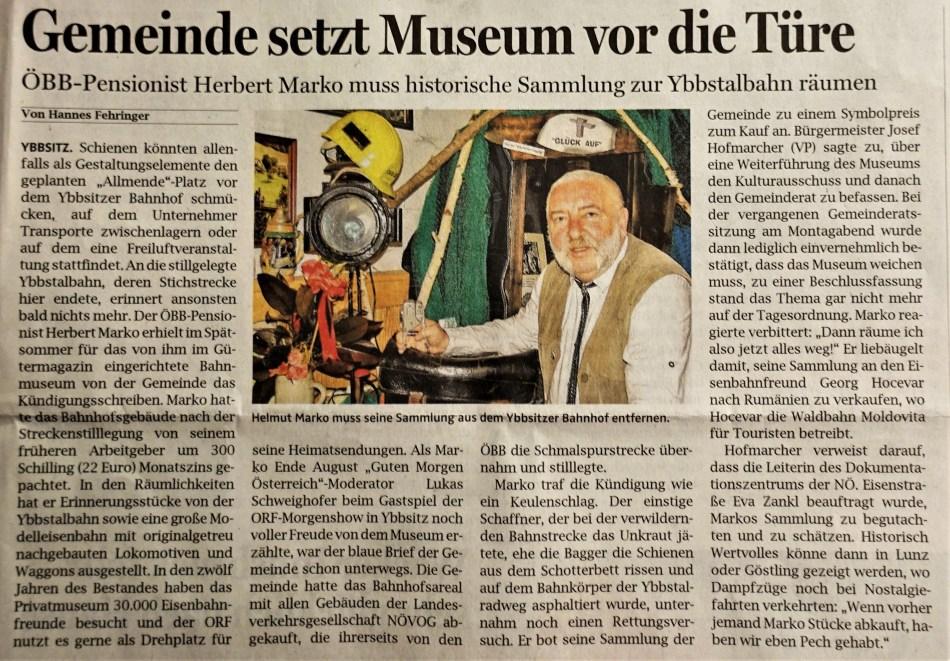 O.Ö.N. 21.9.2017 Marko Museum