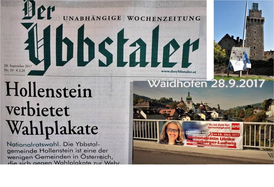 Wahlplakate Titel 2
