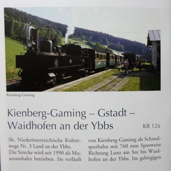Broschüre Ybbstalbahn 1