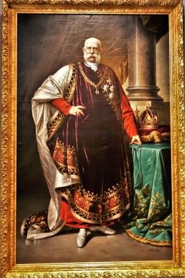Farbbild Kaiser Franz Josef