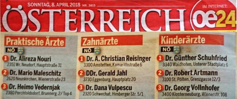 Österreich mit Wertung Titel