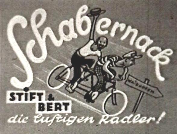 Schabernack Gezeichneter Titel 1951