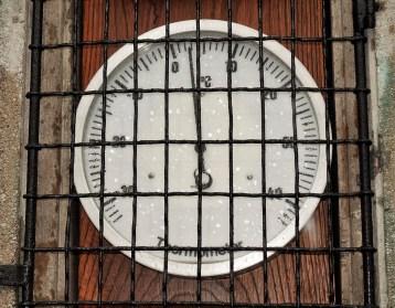 Wetterhäuschwen Instrumente Thermometer