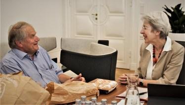 Dolenc Foto Ministerin und Piaty 2