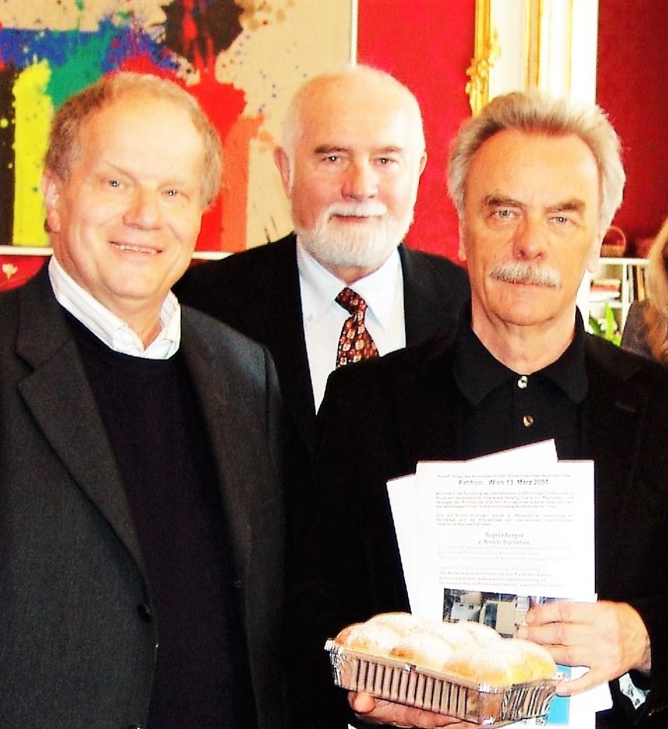 Hofburg - Bruno Aigner, Hofrat Pany, Zuckerbäcker Piaty