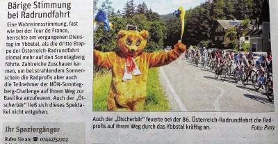 Ötscherbär NÖN Radrennen 13.7.2016