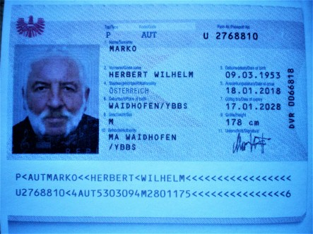 Personalausweis Marko Herbert