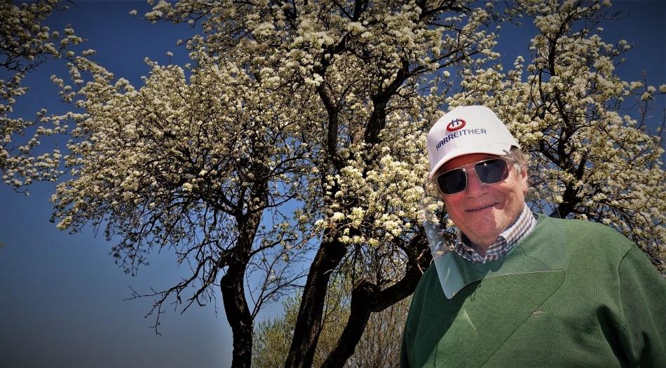 Schutzschild blühende Bäume 22.4.2020