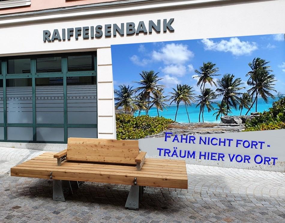 Bankerl bei RAIKA ab Mai 2020