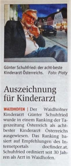 NÖN Ybbstal 18. 12 2012. Schuhfried (2)