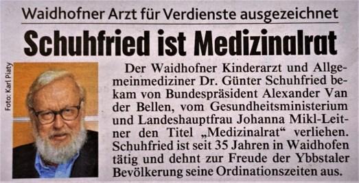 Schuhfried Medizinalrat Krone 7.7.2017 (2)