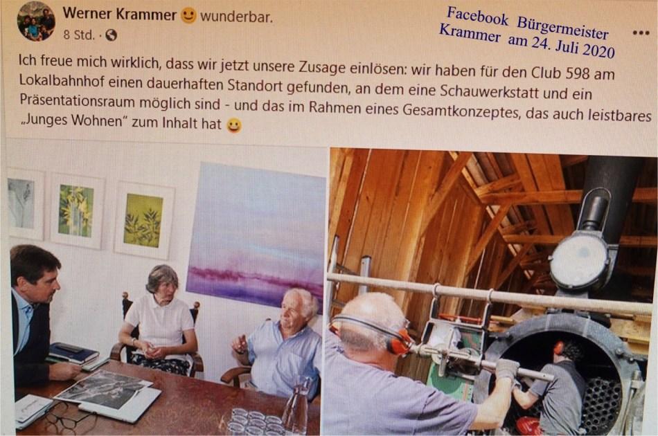 Krammer Facebook Club 598