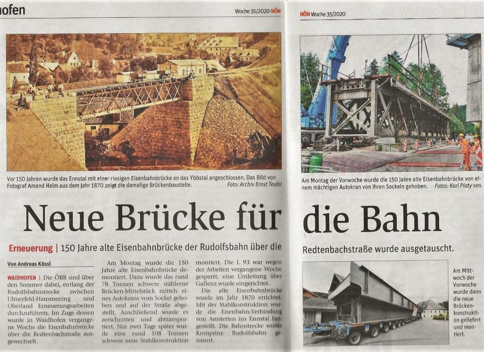 NÖN Brücke Redtenbach Teufel