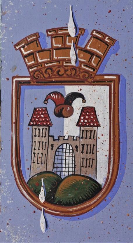 Schild Stadtwappen von Herbert Petermandl